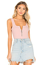Lovers + Friends Charlotte Bodysuit in Pink