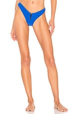 Lovers + Friends Zipped Up Bottom in Royal Blue