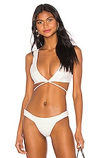 Lovers + Friends Sade Top in White