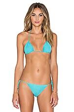 Lovers + Friends Annaba Bikini Top in Bluebird