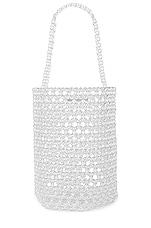 Lovers + Friends Lena Beaded Bag in Clear