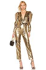 LPA Aurelia Jumpsuit in Gold