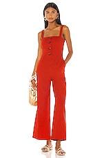 LPA Blanca Jumpsuit in Red