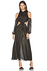 LPA Dress 43 in Black & Gold