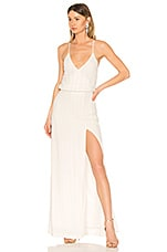 LPA Beaded Crossback Gown in Ivory