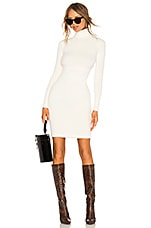 LPA Surrey Sweater Dress in Ivory