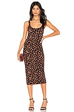 LPA Emelie Dress in Leopard