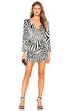 LPA Italina Dress in Zebra
