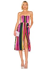LPA Luisa Dress in Multi Colored Stripe