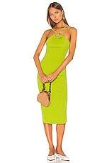 LPA Nadia Dress in Lime Green
