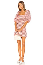 LPA Carly Dress in Gingham Heart