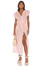 LPA Chase Dress in Light Pink