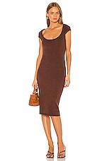 LPA Ruby Dress in Brown