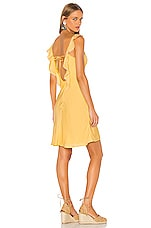 LPA Ginette Dress in Yellow