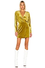 LPA Celeste Dress in Mustard