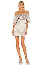 LPA Stella Dress in Dusty Gold