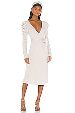 LPA Ozanna Midi Dress in Ivory