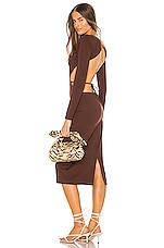LPA Farah Dress in Espresso
