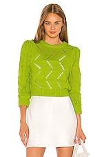LPA Hannah Sweater in Bright Green
