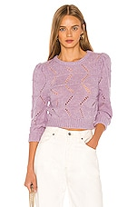 LPA Hannah Sweater in Lilac
