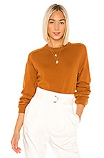 LPA Miles Sweater in Brown