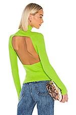 LPA Emmett Sweater in Neon Green
