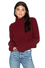 Sweater 217 in Merlot