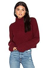 LPA Sweater 217 in Merlot