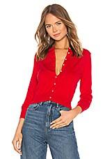 LPA Cardigan Sweater in Red