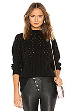 LPA Oversized Sweater in Black