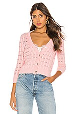 LPA Rosie Cardigan in Light Pink
