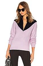LPA Front Row Zip Up in Lavender