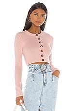 LPA Eliza Sweater in Light Pink