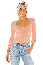 LPA Frankie Sweater in Rose Gold