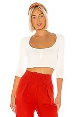 LPA Rora Sweater in Pearl White