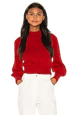 LPA Darcie Sweater in Red