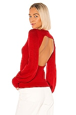 LPA Aria Sweater in Soft Red