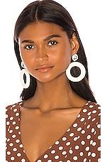 LPA Clara Earring in White