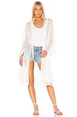 LPA Yvette Kimono in White