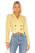LPA Michelle Jacket in Butter Yellow
