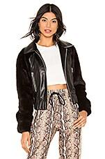 LPA Raglan Jacket in Black