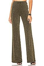 LPA Pants 93 in Black & Gold