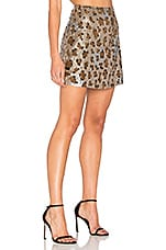 Skirt 64 in Leopard Sequin