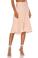 LPA Lucy Skirt in Blush Nude