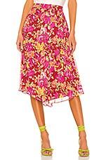 LPA Kaylee Skirt in Liza Floral
