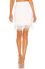 LPA Elise Skirt in White