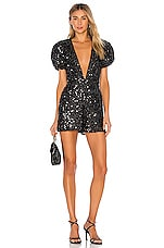 LPA Colby Romper in Black