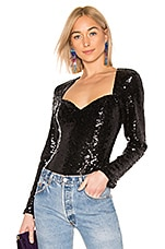 LPA Chiara Top in Black