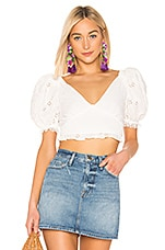 LPA Melita Top in White