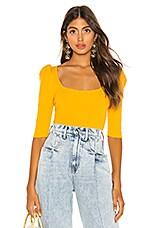 LPA Carol Top in Yellow